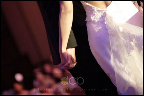 Shot spontaneously during a wedding dinner using Canon 20D I used to own