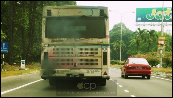 smoky bus, Subang