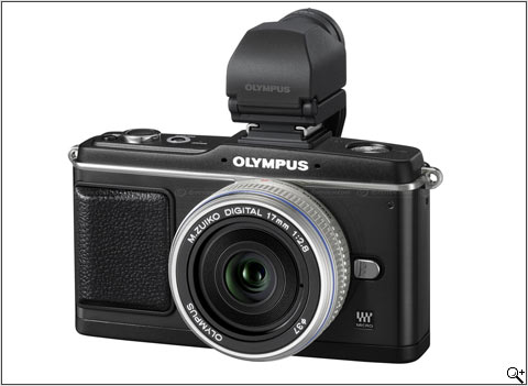 NEW OLYMPUS PEN E-P2, image from dpreview.com
