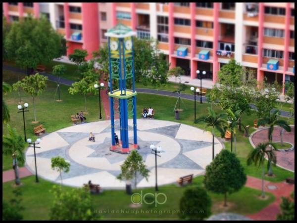 Another view of the HDB Recreational Park, Singapore HDB Flats are like condominiums!